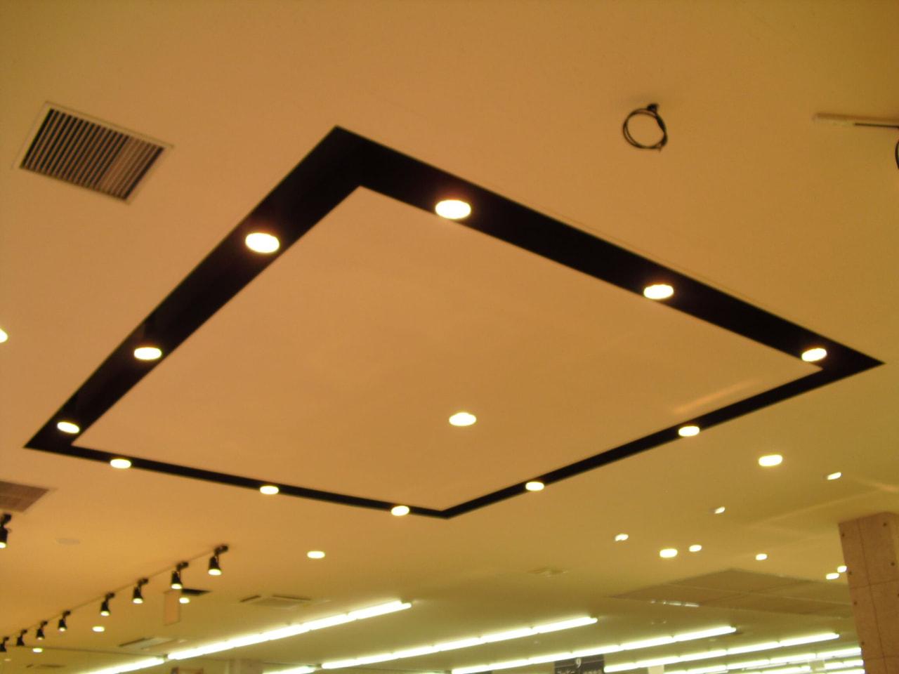 ⑥天井堀込照明